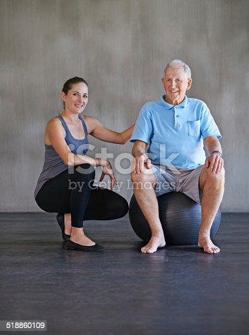 517995977 istock photo Helping him get back to his old self 518860109