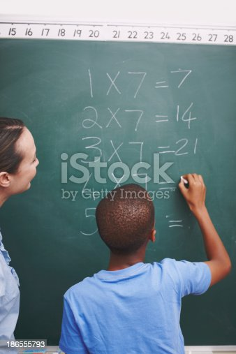 istock Helping him reach his potential 186555793