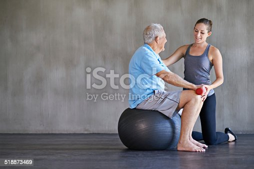 517995977 istock photo Helping him stay strong and healthy 518873469