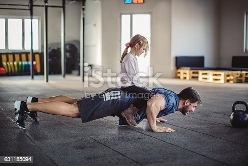 istock Helping me getting stronger 631185094