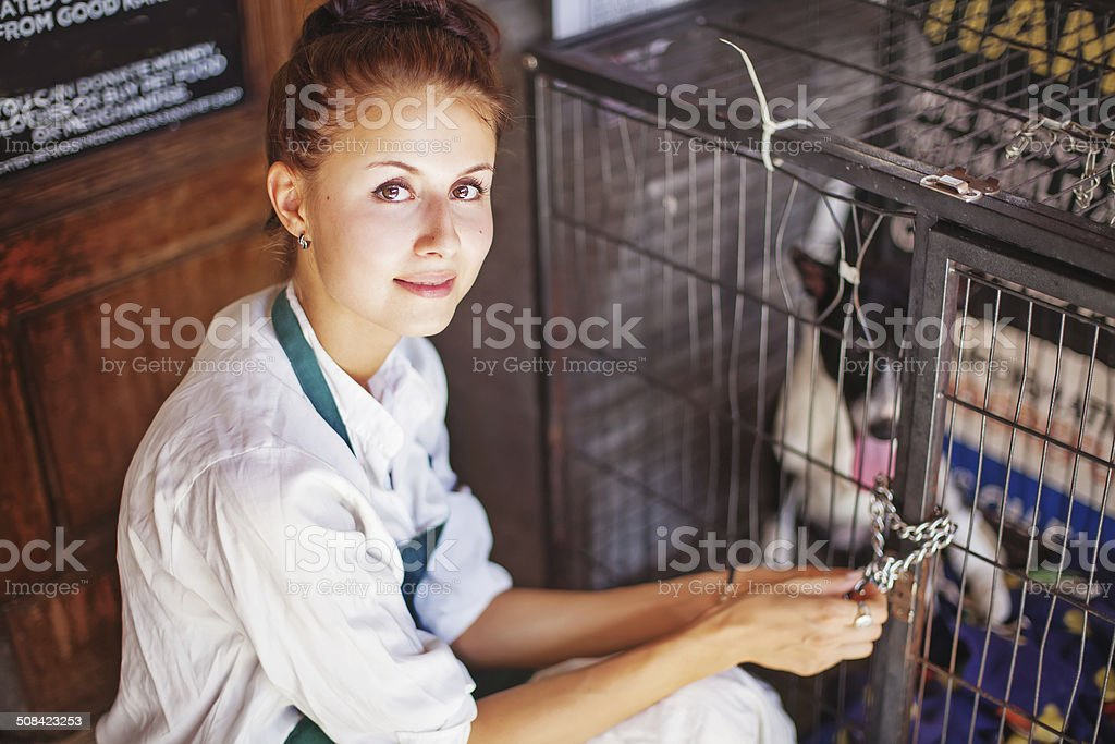 Helping others stock photo