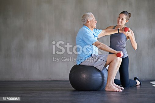 517995977 istock photo Helping patients stay strong and healthy 517998985