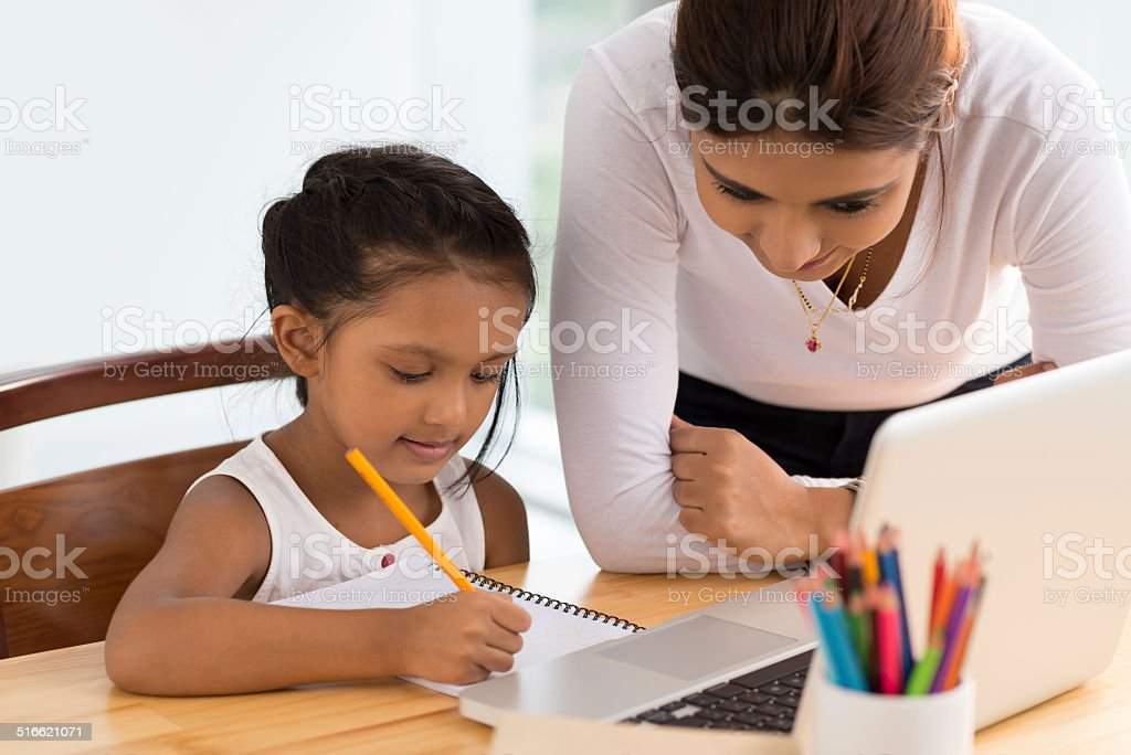 Helping stock photo