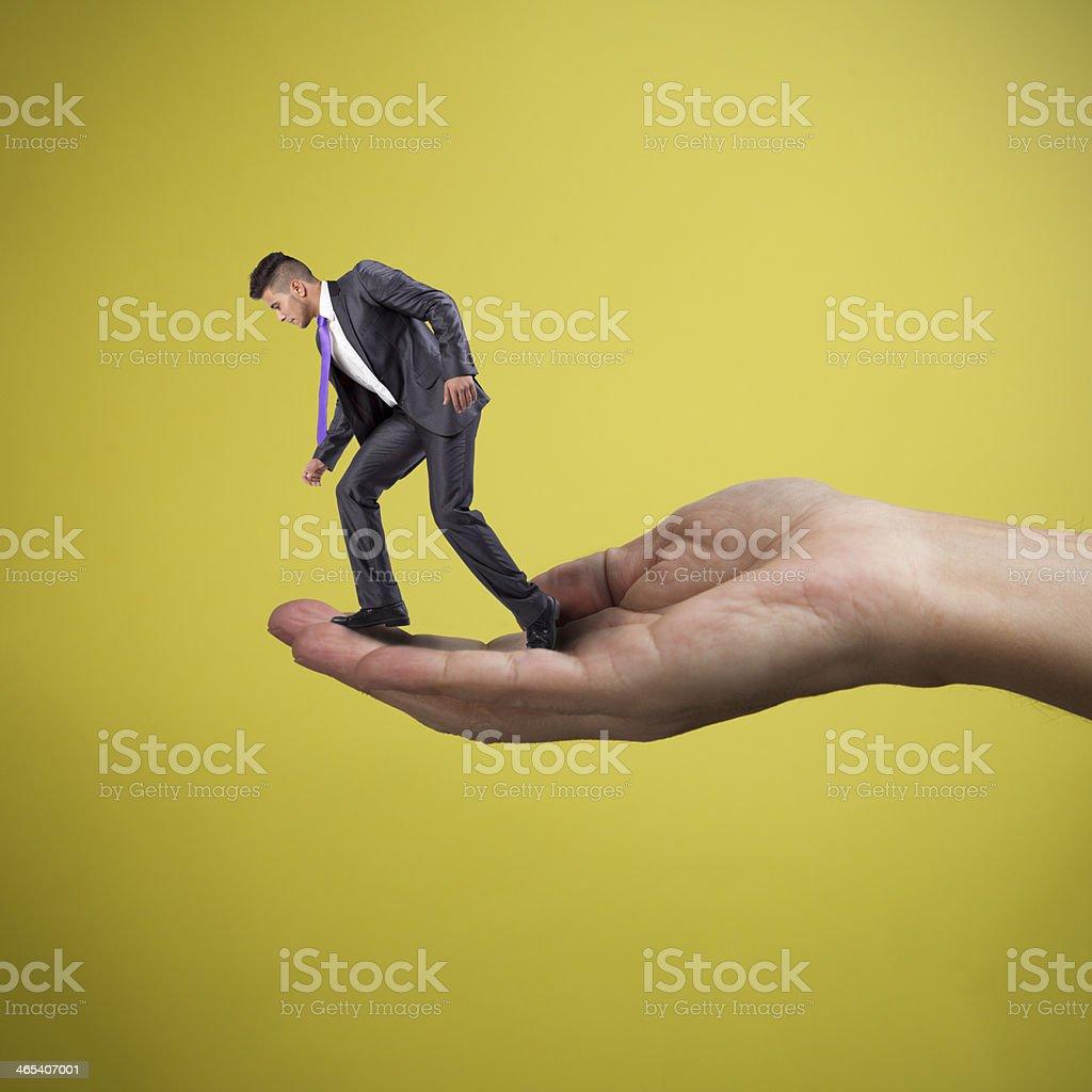 Damit der Geschäftsmann – Foto