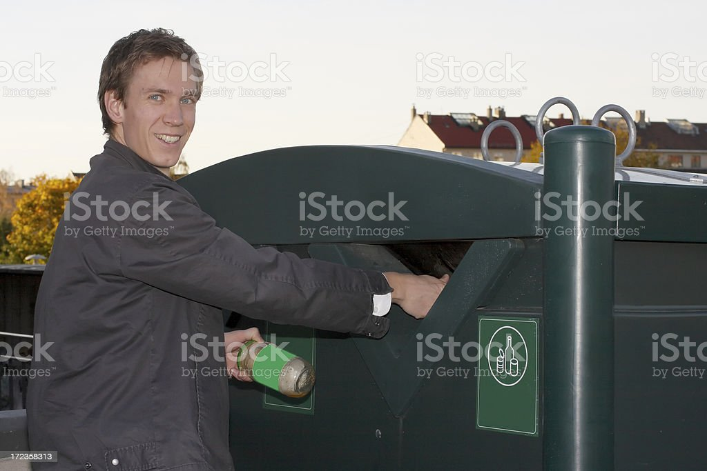 helping the environment royalty-free stock photo