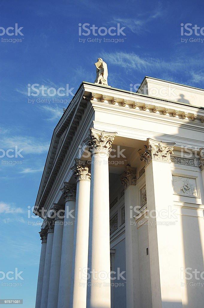 Cathédrale d'Helsinki, détail photo libre de droits