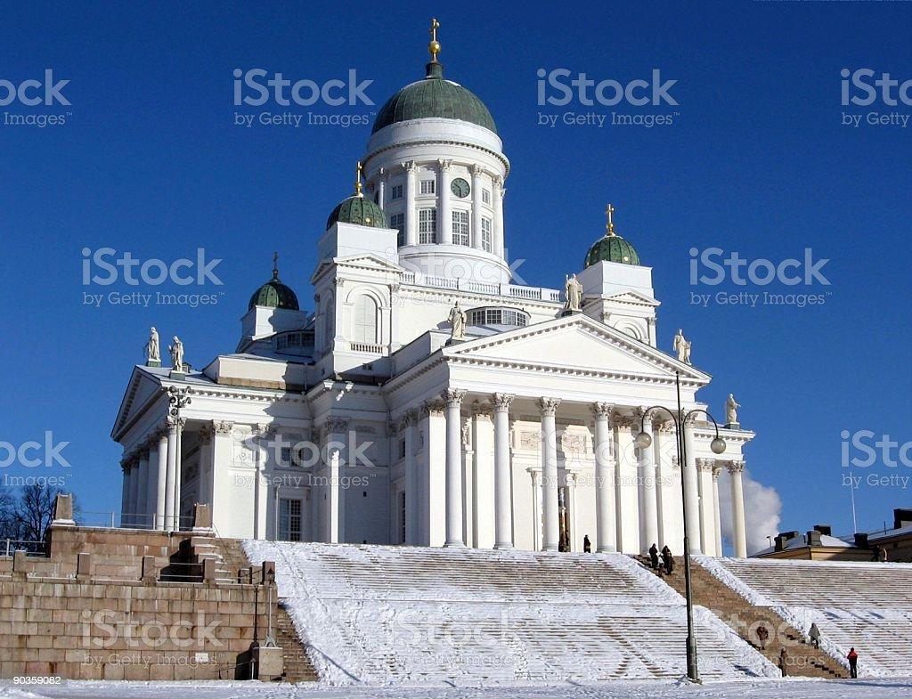 Helsinki Cathedral royalty-free stock photo