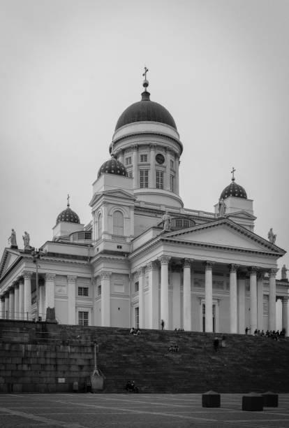 Catedral de Helsinque  - foto de acervo
