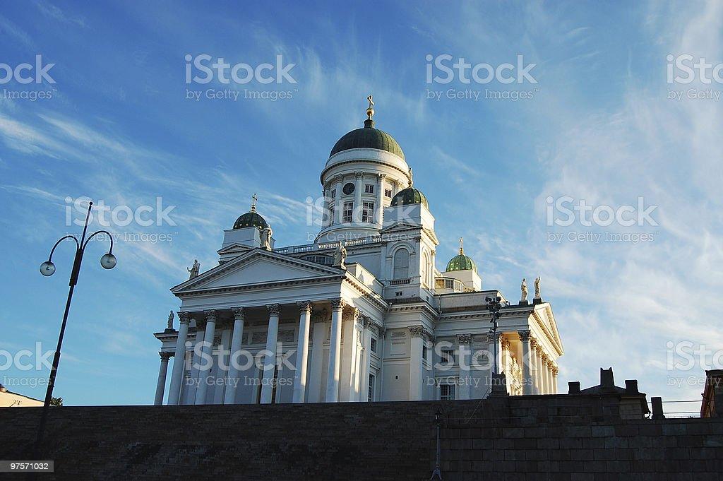 Cathédrale de Helsinki photo libre de droits