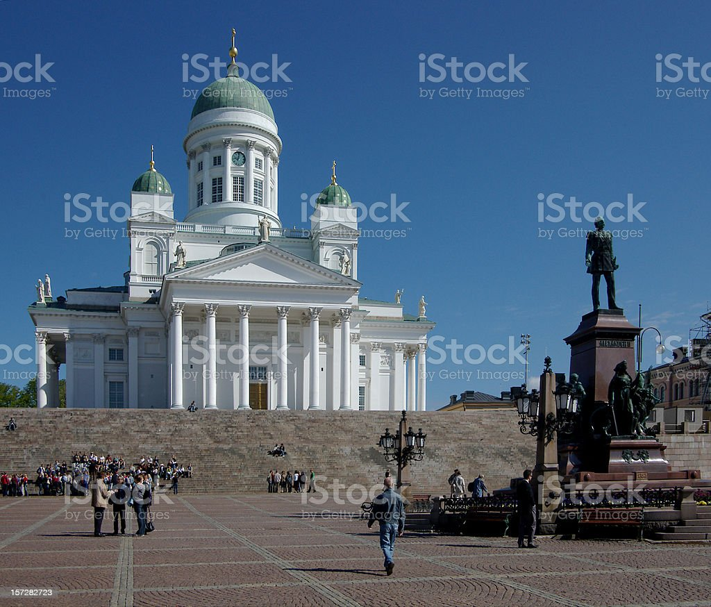 Helsinki Church Finland royalty-free stock photo