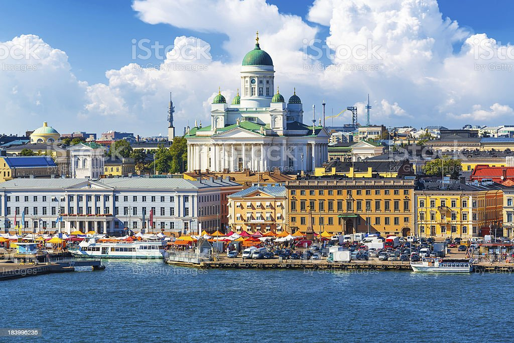 Helsinki, Finlandia foto de stock libre de derechos
