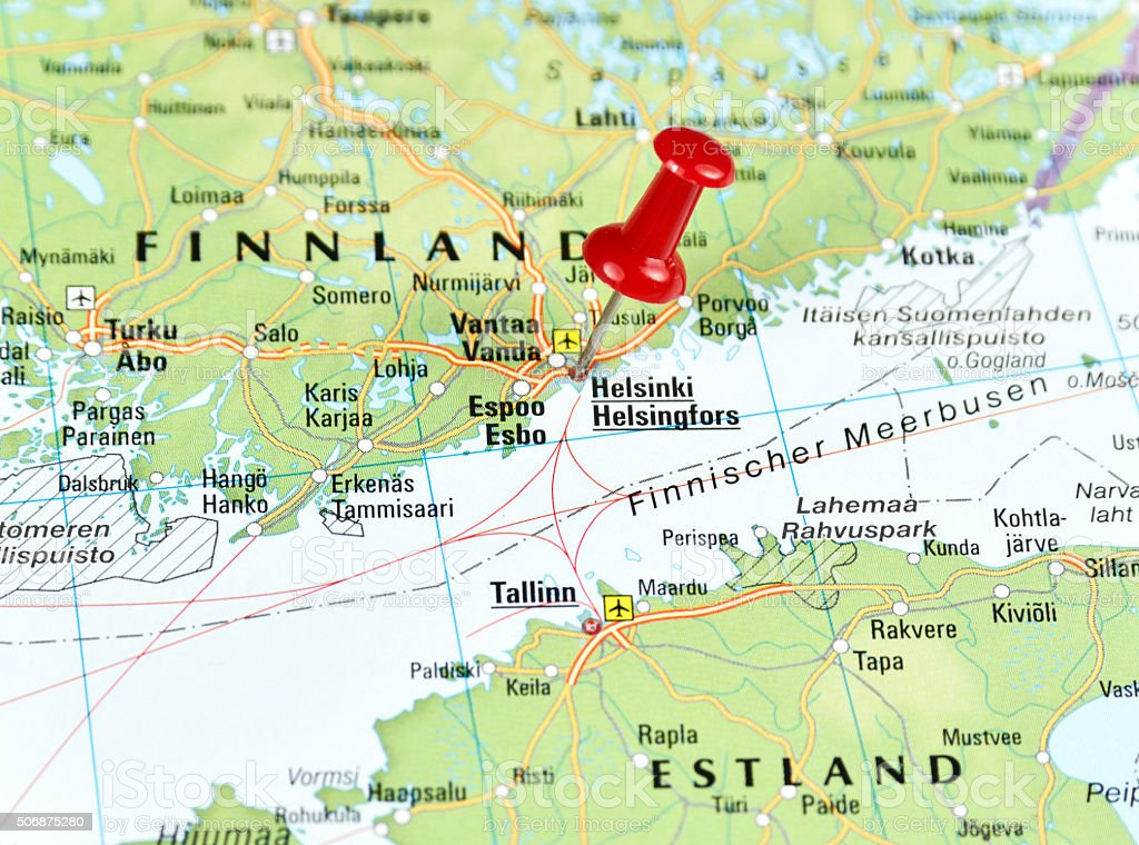 Helsinki World Map.Helsinki Finnland Stock Photo More Pictures Of Capital Cities Istock