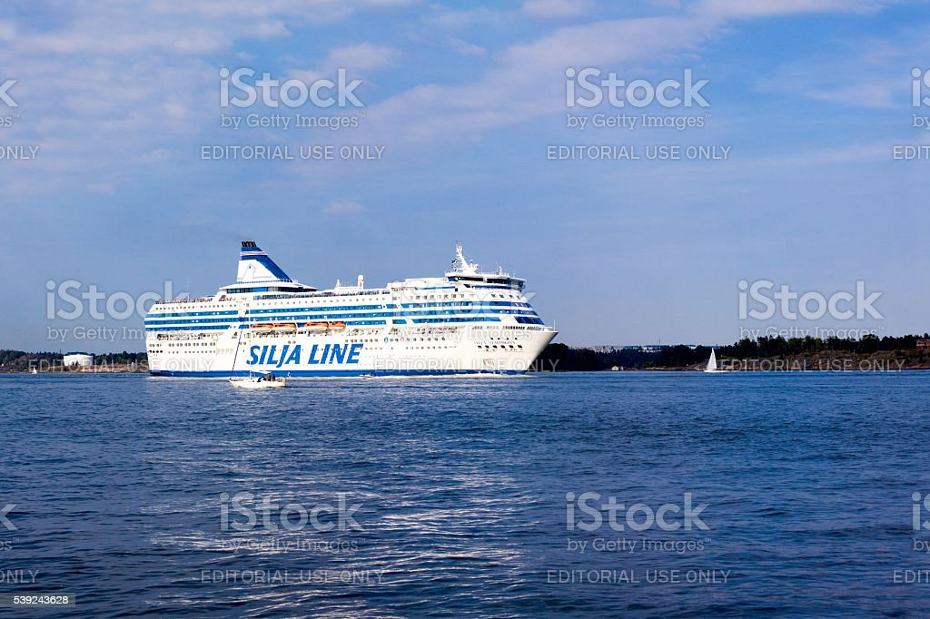 Helsinki, Finland-August 18 2013 royalty-free stock photo