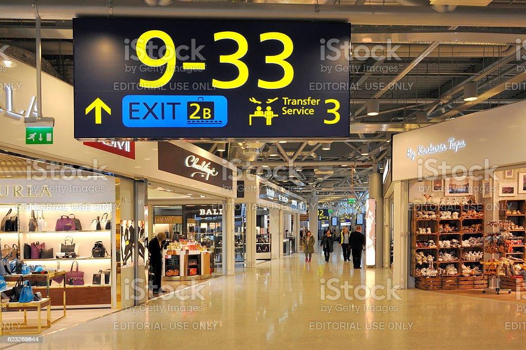 Helsinki International Airport stock photo