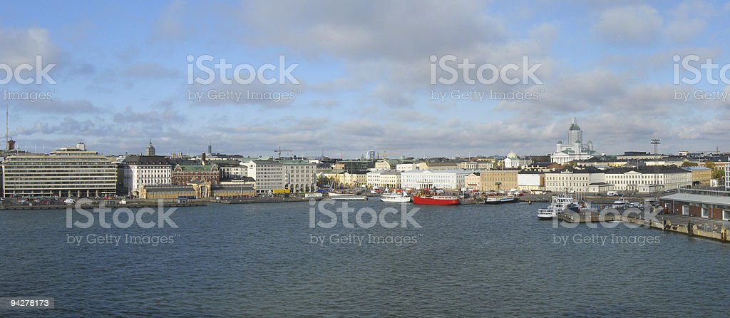 Helsinki panorama royalty-free stock photo