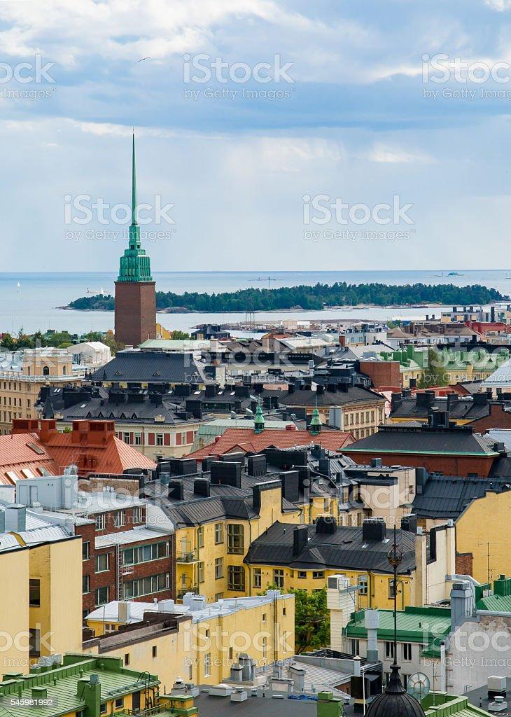Helsinki stock photo