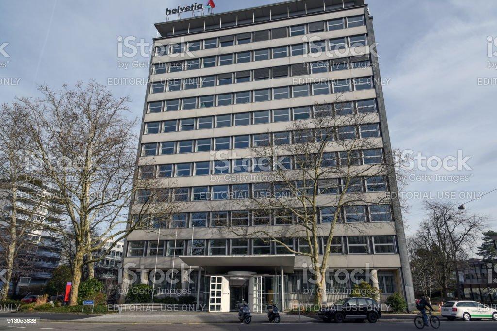 Helvetia Versicherung stock photo