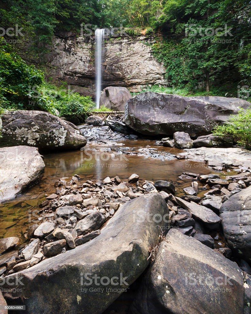 Hemlock Falls at Cloudland Canyon State Park in Georgia stock photo