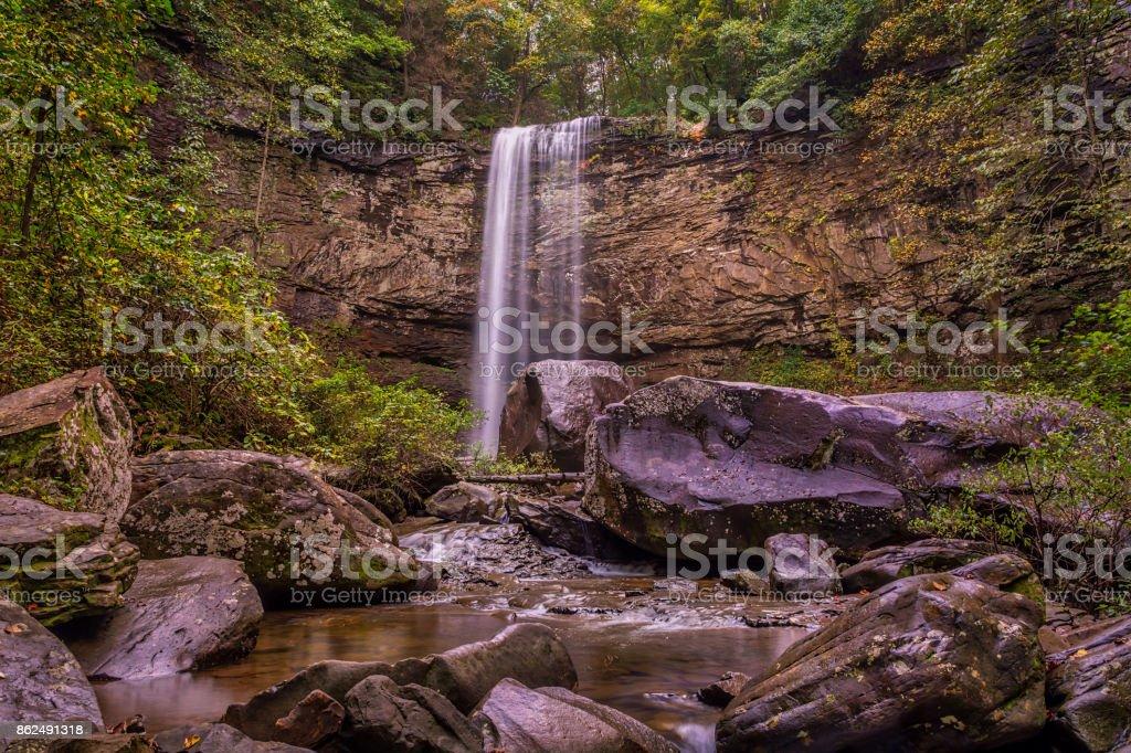 Hemlock Falls royalty-free stock photo