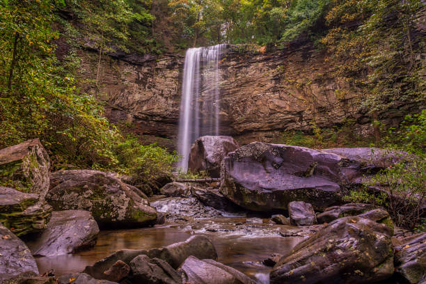 Hemlock Falls stock photo