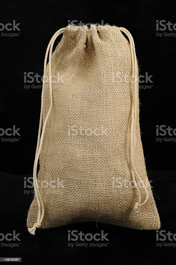 Hemp Pouch royalty-free stock photo