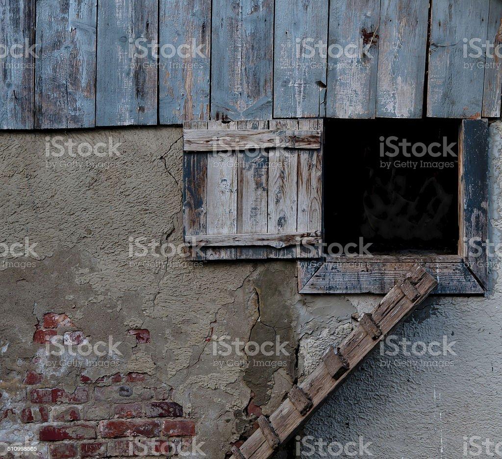 hen house stock photo