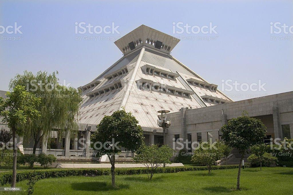 Henan Provincial Museum, China stock photo
