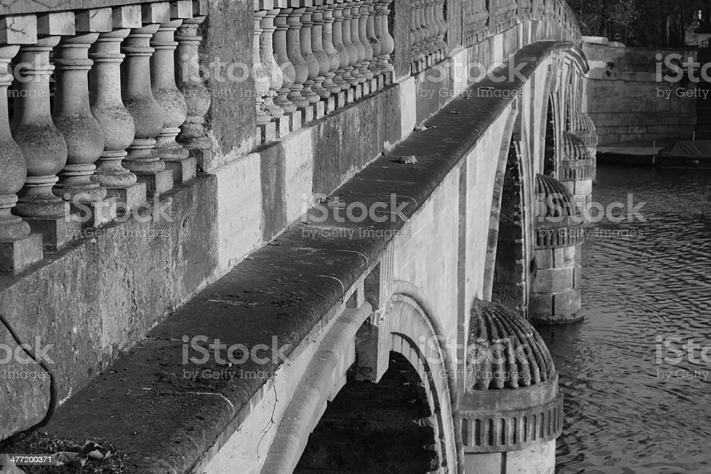 Henley bridge stock photo