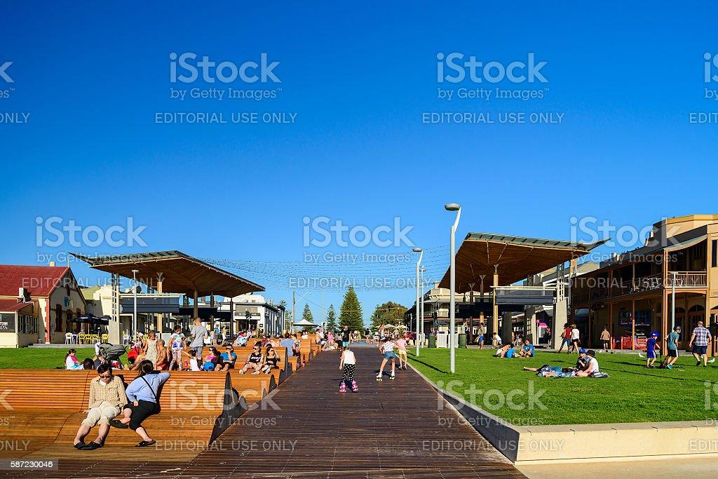 Henley Square, South Australia stock photo
