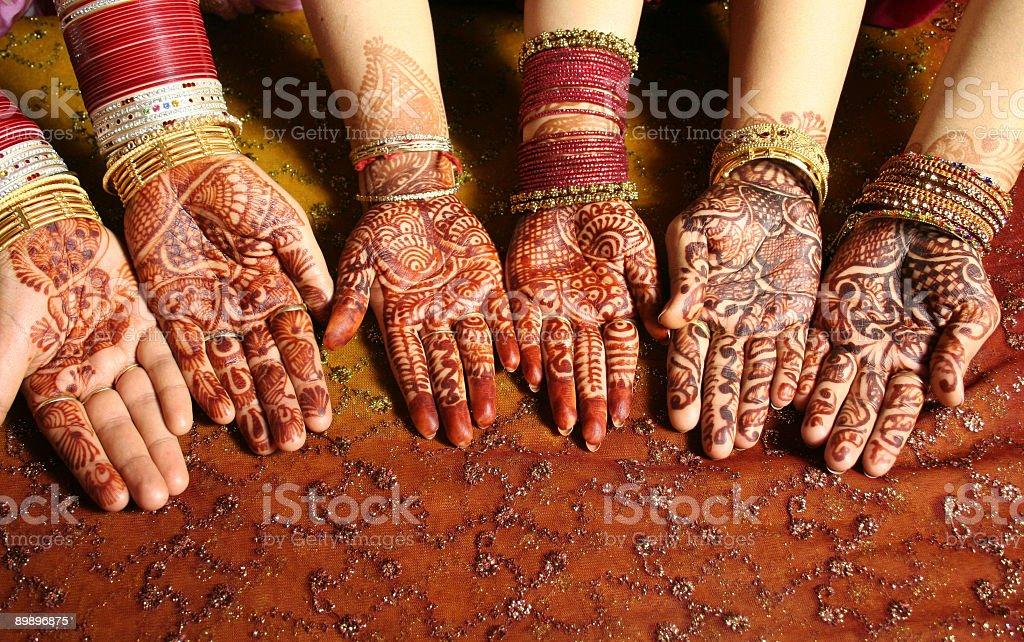 Henna foto de stock libre de derechos