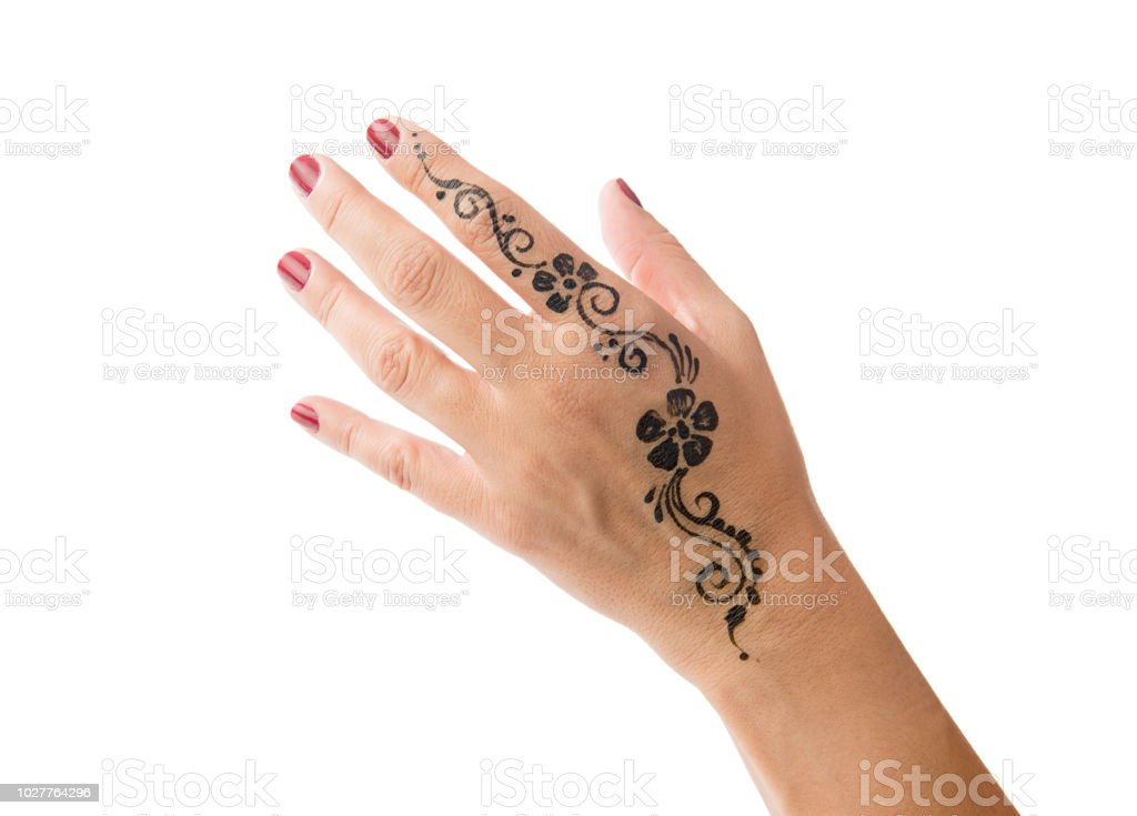 Henna Tattoo On Hand Isolated Stock Photo Download Image Now Istock ✓ free for commercial use ✓ high quality images. henna tattoo on hand isolated stock photo download image now istock