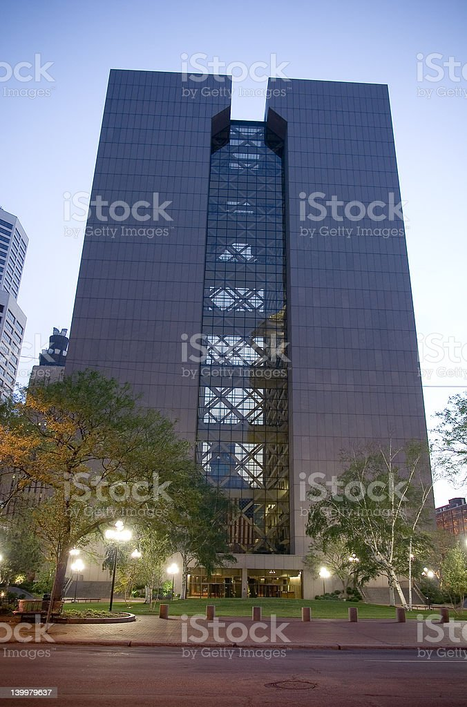 Hennepin County Government Center royalty-free stock photo