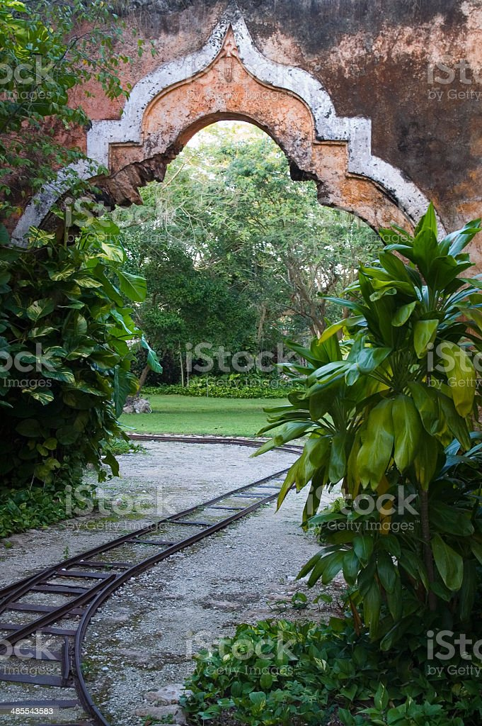 Hennequin Arch In Abandoned Sisal Rope Factory Stock Photo & More