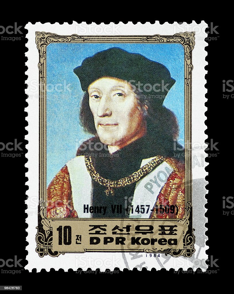 Henry VII royalty-free stock photo