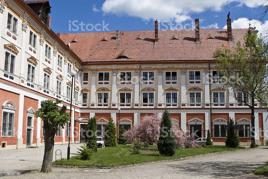 Henrykow - monastery of Cistercian royalty-free stock photo