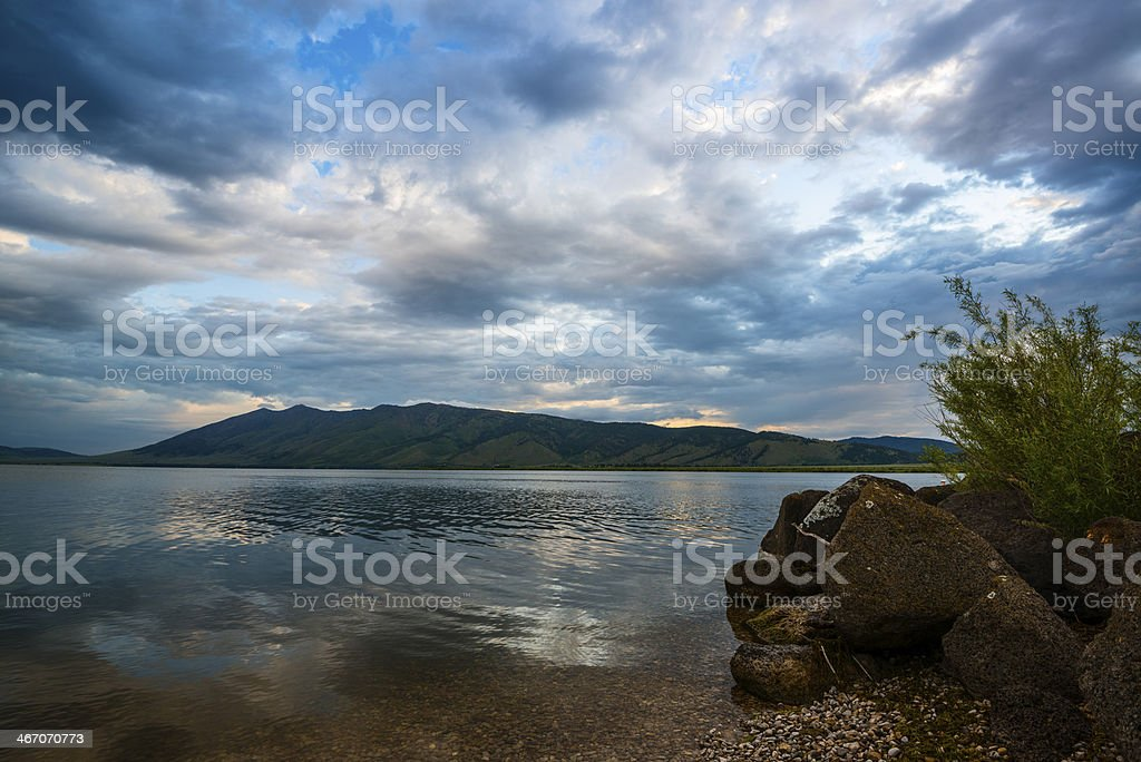 Henrys Lake, Idaho royalty-free stock photo
