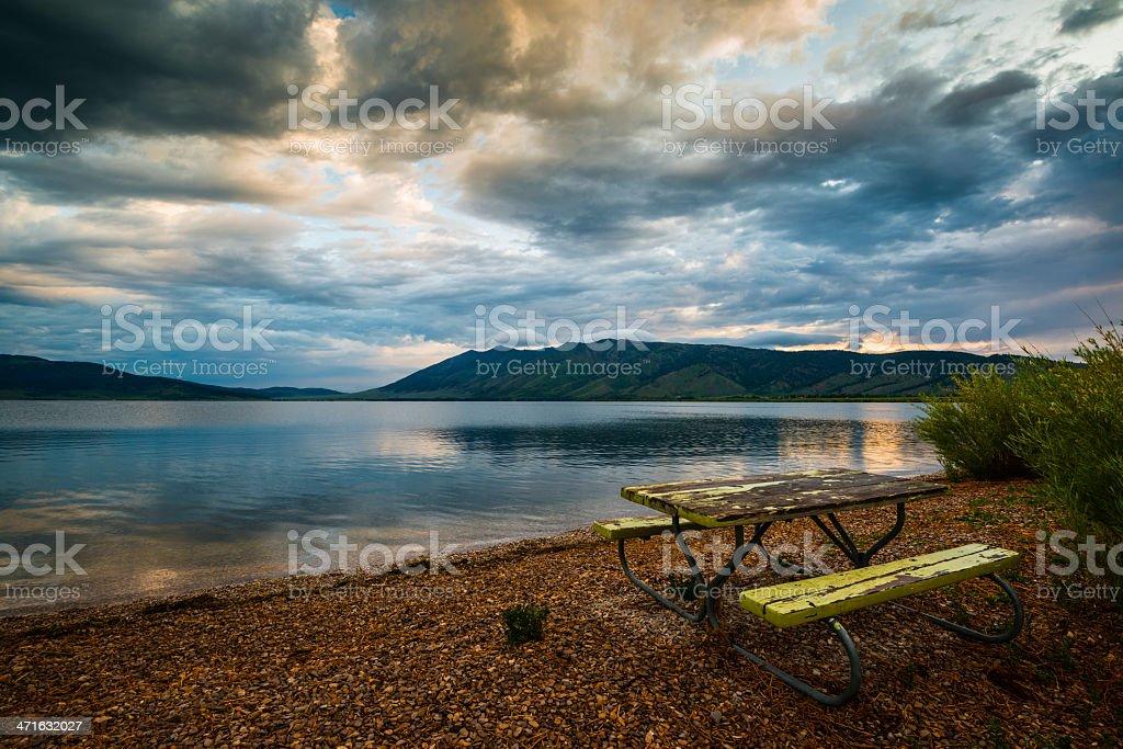Henrys Lake State Park, Idaho royalty-free stock photo
