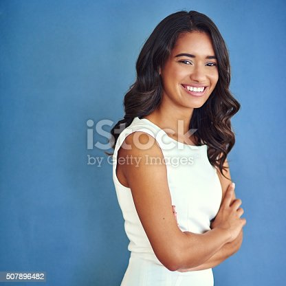 507896586istockphoto Her ambition speaks volumes 507896482