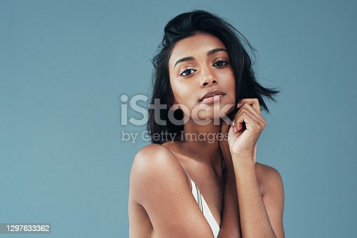 istock Her beauty makes it hard not to stare 1297633362