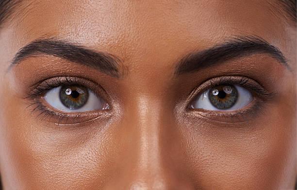 Olhos revelar a sua beleza interior - foto de acervo