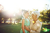 Her granddaughter holds the key to her heart