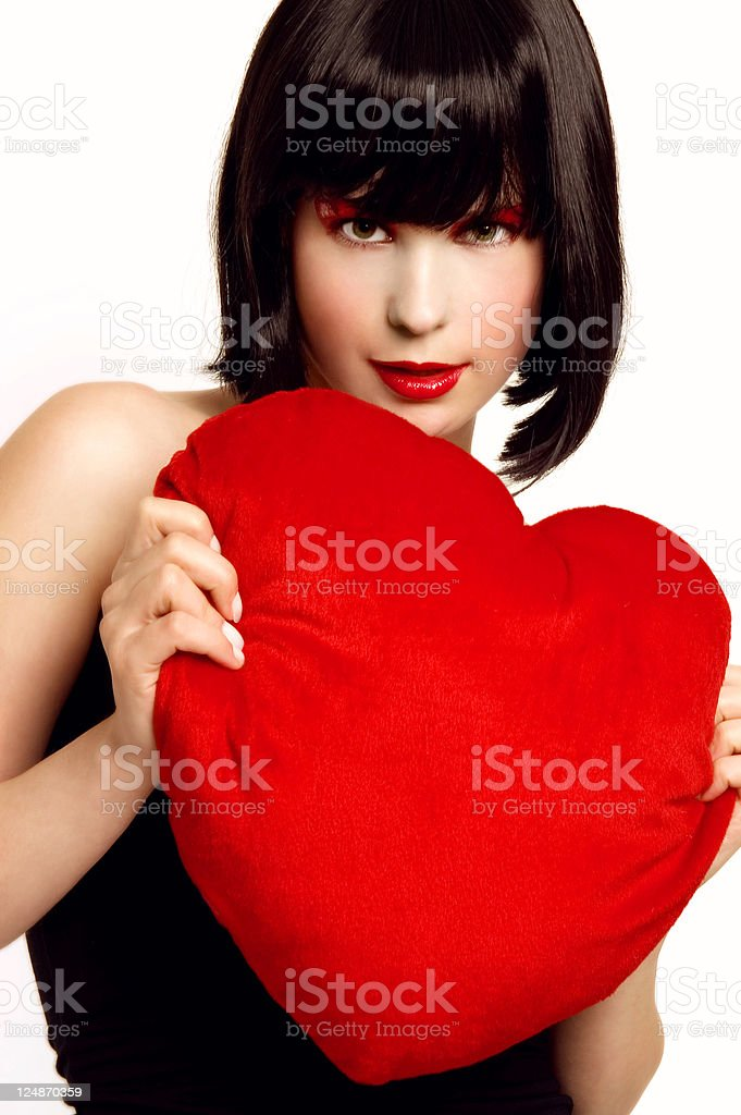 Her Heart - 2 royalty-free stock photo