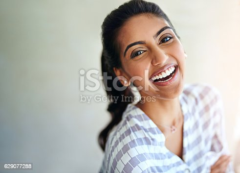 629077968istockphoto Her heart is filled with happiness 629077288