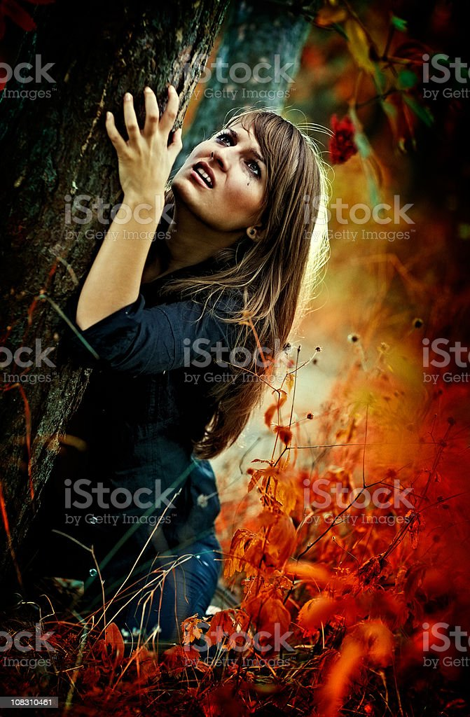 Her hell royalty-free stock photo
