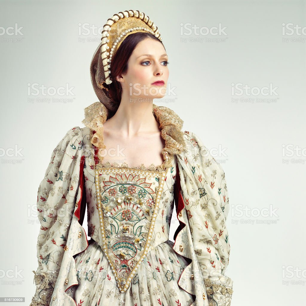 Her majesty the queen stock photo