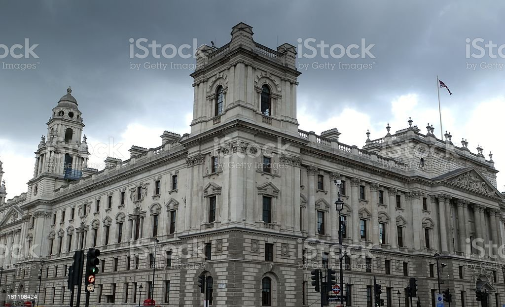 Her Majesty's Revenue And Customs royalty-free stock photo