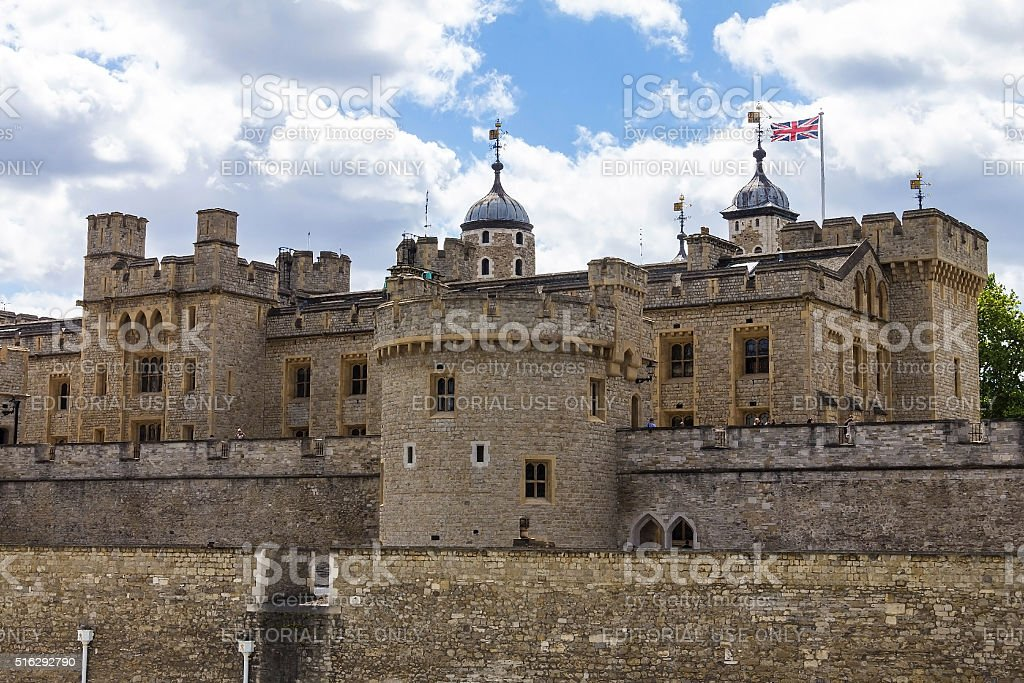 Her Majesty's Royal Palace and Fortress, stock photo