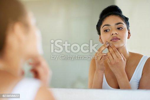 istock Her morning makeover 623858822
