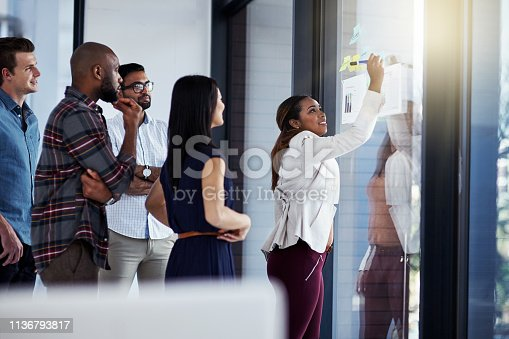 496441730istockphoto Her new plan of action has everyone intrigued 1136793817