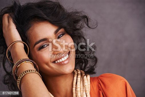 istock Her own kind of beautiful 517401259